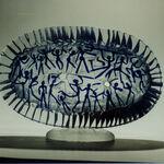 szkło: Andrzej Kucharski-Tancerze z serca megalitu-32x28cm-1994