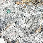 Magdalena Kucharska-M. w towarzystwie aniołów, twórczej weny i kochającego... acz wymagającego męża / Nr 6-100x70cm-rysunki dyplomowe/ pracownia malarstwa i rysunku prof. Stanisława Kortyki-1991