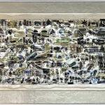 szkło, metalowa rama anodowana kolor srebrny: